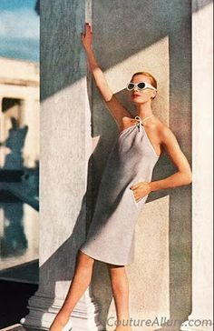 Claire McCardell dress 1958 I absolutely adore the simplicity of this dress!