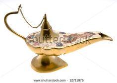 -old-brass-oil-lamp