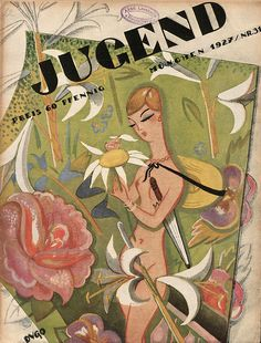 Jugend magazine cover art, 1927.
