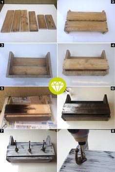 Use Pallet Wood Projects to Create Unique Home Decor Items – Hobby Is My Life Diy Wooden Projects, Woodworking Projects Diy, Wooden Diy, Diy Projects Out Of Pallets, Home Decor Items, Diy Home Decor, Palette Deco, Bois Diy, Diy Casa