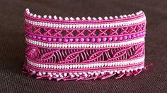 Wide Macramé Cuff Bracelet Tutorial | Macrame School