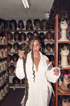 # beyonce Braids life Beyoncé for ELLE Black Girl Magic, Black Girls, Britney Spears, Curly Hair Styles, Natural Hair Styles, Black Girl Aesthetic, Elisabeth Ii, Rihanna, Aaliyah