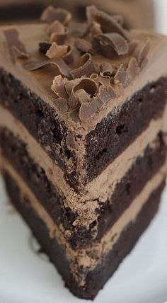 It's not called the OMG Chocolate Chocolate Cake for nothing!