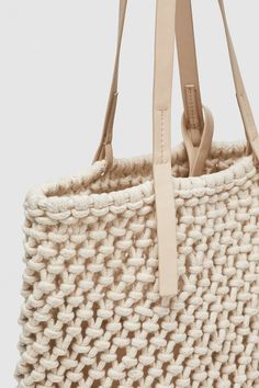 Zara, Straw Bag, Tote Bag, Detail, Knots, Totes, Tejidos, Bags, Tote Bags