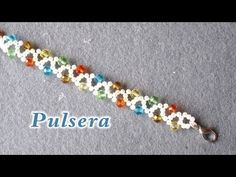 easy chain for necklace or bracelet ~ Seed Bead Tutorials