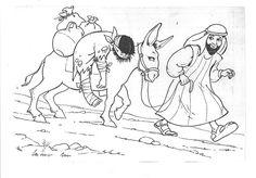 Printable Coloring Page for Parable of the Good Samaritan | noah ...