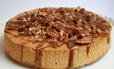 Pumpkin Cheesecake with Caramel Pecan Topping (*****) MAKE AGAIN!  Substituted gingerbread pecan crust - turned out great.