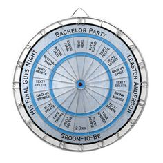 Bachelor Party Regulation Dart Board on Unique, quality products for the bachelor  party pages