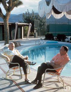 Yul Brynner and Frank Sinatra.