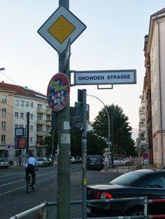 Snowden Straße