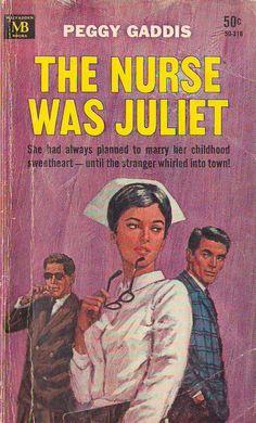 vintage nurse novel romance - Bing Images