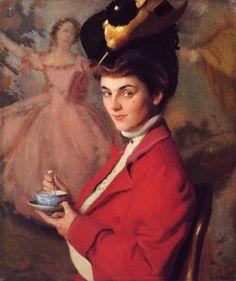 Cherry - William McGregor Paxton.  Eva's blog