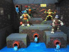 Action Figure Display, Action Figures, Elm Street, Diy Dollhouse, Teenage Mutant Ninja Turtles, Tmnt, My Room, Airplanes, Creative Ideas