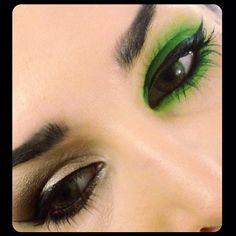 Beautiful green shadow