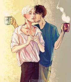 literally my drarry aesthetic #drarry #draco #harry