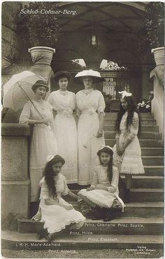 The Princesses of Luxemburg