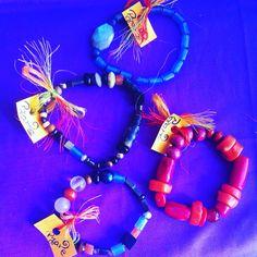 Blue art bracelet art
