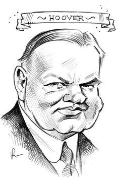 31. Herbert C. Hoover by Tom Richmond