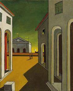 Картинки по запросу giorgio de chirico paintings