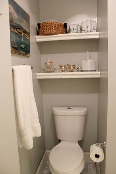 Bathroom shelf decor bathroom shelves over toilet bathroom ideas floating bathroom wall shelves above toilet in . Over Toilet Storage, Bathroom Shelves Over Toilet, Bathroom Shelf Decor, Bathroom Storage, Small Bathroom, Bathroom Ideas, Bathroom Designs, Bathroom Organization, Modern Bathroom