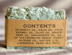 Dead Sea Mud and Laminaria Soap- All Natural Soap,Handmade Soap,Laminaria,Dead Sea Mud Soap,anti-cellulite soap,Spa Soap,Unscented Soap.  Soap with Laminaria, thanks to its member kelp and Dead Sea mud , especially well suited for oily skin and combat cellulite complex . You could even say that it is anti-cellulite soap, but , of course, hope for a miracle and believe that cellulite disappear just because of this soap is not necessary. It cleans the pores and removes excess sebum , does not…