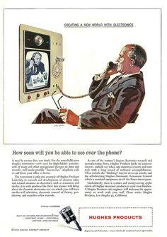 1957 ... see over the phone? by x-ray delta one, via Flickr