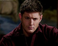 [gif]  Dean Winchester  ...I can't get over how good he looks in this scene.  I can't...   #Supernatural 8.16