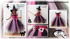 ***HALLOWEEN***  The prettiest and coolest #Halloween #tutu dress is here!! This can me made in other colour combinations too, f.ex purple or orange. They will be made according to measurements and you can decide the length of the #dress too. Prices vary according to amount of materials used. As an example 3y dress which is 33cm long (waist to hem) is £29 and 6-7y size which is 54cm long is £34 plus postage and packaging.