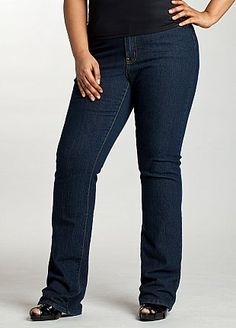 Nice jeans for a fuller figure.