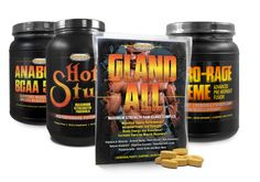 Muscle Growth Combo Kit - Hot Stuff, Gland-All, Anabolic BCAA & Nitro-Rage Xtreme... Rage, Muscle, Banana, The Incredibles, Exercise, Kit, Ejercicio, Bananas, Excercise