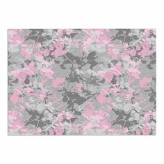 KESS InHouse Carolyn Greifeld 'Blissed' Gray Digital Dog Place Mat, 13' x 18' ** Discover this special dog product, click the image : Dog food container
