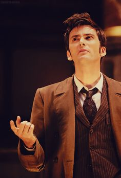 David Tennant as The Doctor I Am The Doctor, Doctor Who 10, 10th Doctor, Twelfth Doctor, Geronimo, Serie Doctor, Hatha Yoga, David Tennant Doctor Who, Broadchurch