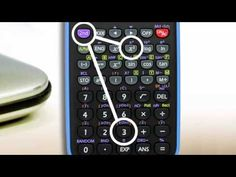 How to use your scientific calculator. You tube video