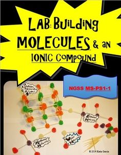 Students will build three molecules (water, ethanol, and methanol) and one extended structure (sodium chloride crystal). PURPOSE: The purpose of this activity is to learn how atoms can combine to form molecules and extended structures.