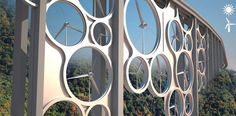 Why just use solar power or wind power when you can use both? Designed by Francesco Colarossi, Giovanna Saracino and Luisa Saracino as part of an Italian desig...