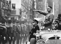 Adolf Hitler and Heinrich Himmler.