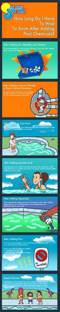 How Long Should you wait to Swim after adding Pool Chemicals? Pool Porch, Patio, Swimming Pool Maintenance, Backyard Playground, Pool Backyard, Garden Pool, Backyard Ideas, Pool Care, Intex Pool