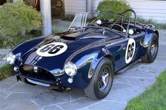 1964 Shelby Cobra 289 Maintenance/restoration of old/vintage vehicles: the material for new cogs/casters/gears/pads could be cast polyamide which I (Cast polyamide) can produce. My contact: tatjana.alic@windowslive.com