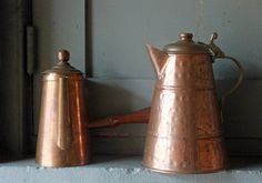 I have pieces exactly like this in my collection.  Just love Copper!