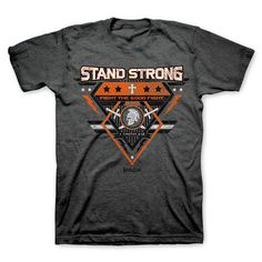 Kerusso Christian T-Shirt | Stand Strong