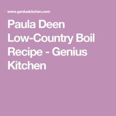 Paula Deen Low-Country Boil Recipe - Genius Kitchen