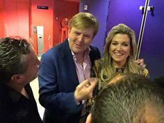Willem-Alexander en Maxima bezochten een concert van het Rosenberg Trio