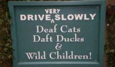 Sign from Mill Dene Gardens in the Cotswolds.