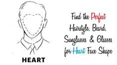Guide For people with Heart Face Shape