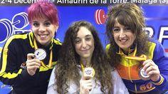 LoidaZabala  gana la Copa de Europa de Powerlifting