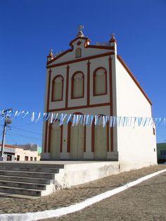 Igreja católica em Serra Branca, Estado da Paraíba, Brazil