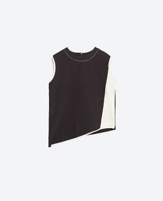 Image 8 of CONTRAST TOP from Zara