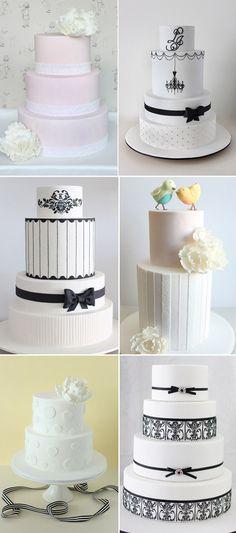 Prettttttty cakes by Sharon Wee Creations on Polka Dot Bride