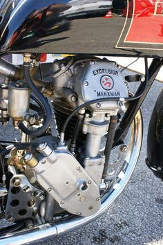 Excelsior Manx  Love the engine mounts