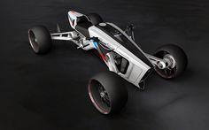 Foto Roadcarver: una quattro ruote che piega in curva